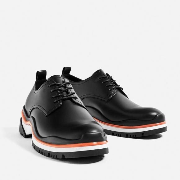3975f6f00eea Zara man black Shoe Size EU 42
